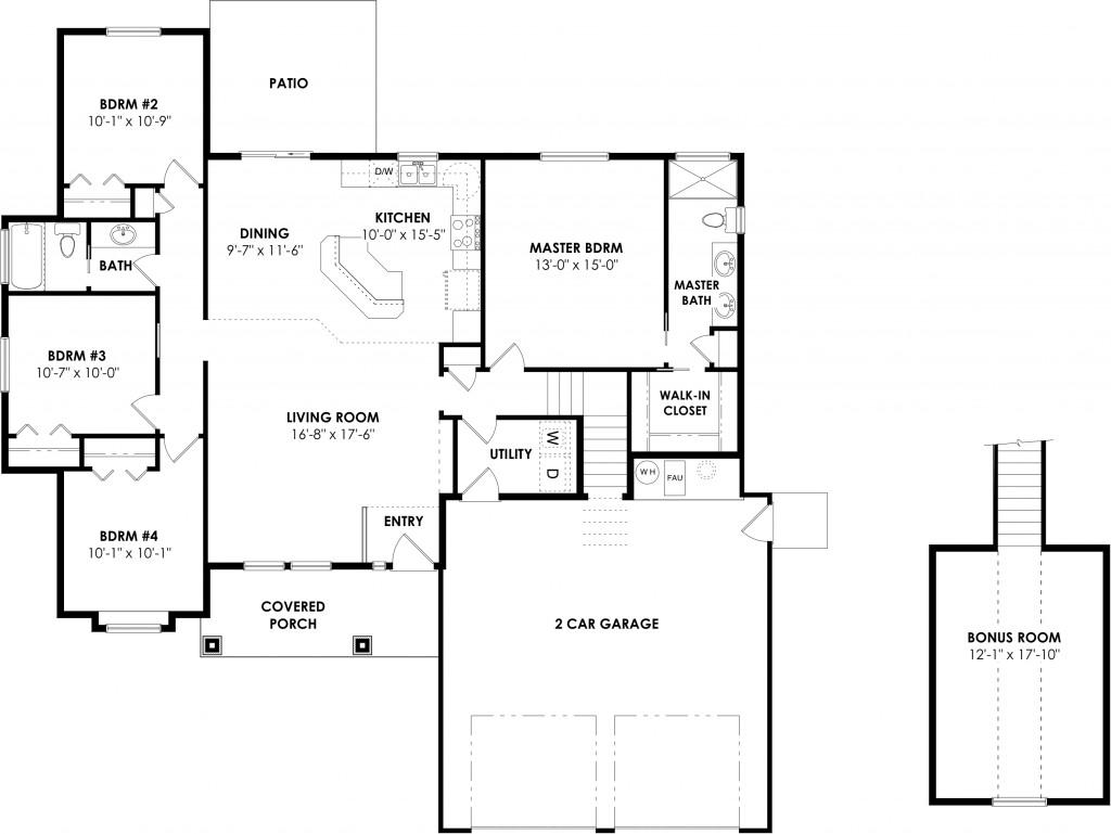 Chepstow floor plan