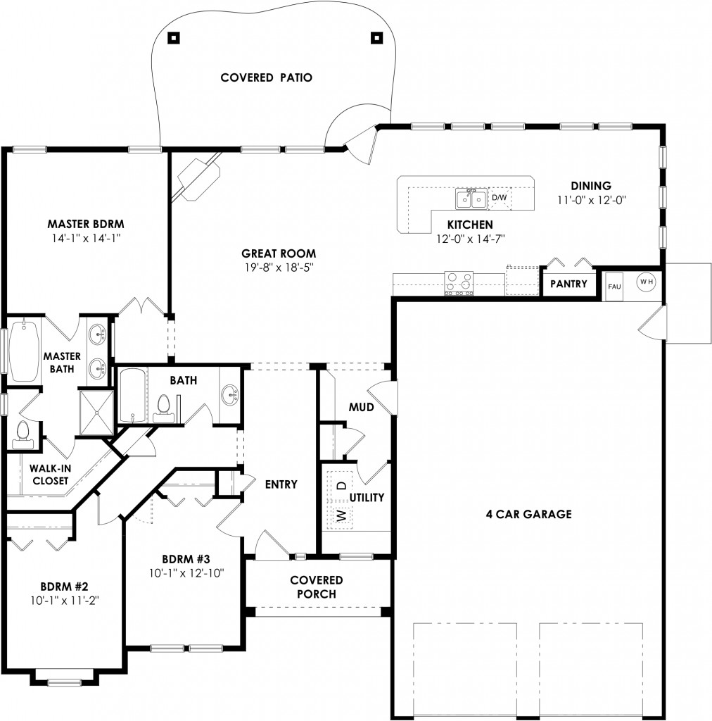 Whitmore floor plan